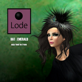 *LODE* Hat - Emerald