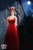 *Badoura Design* BD-Empire gown gift dollarbie abendkleid ball dance gold freebie