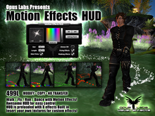 Opus Labs - Motion Effects HUD - Kinda  like a Magical Emote HUD for Fantasy Expression