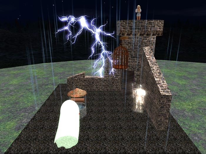 Halloween Decoration: Castle Scene
