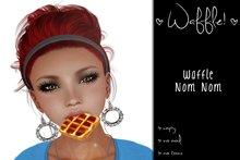 Waffle Nom Nom Mouthie