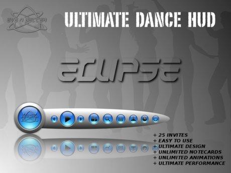 ULTIMATE Dance HUD [ECLIPSE Blue Edition] +25Invites