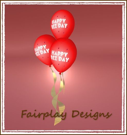 Happy Rez Day Red Themed Balloon  Cluster COPYABLE