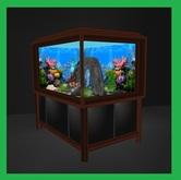 ♡ Deluxe Animated Aquarium Set ~ Great Fish Tank ~ Romantic Fantasy Aquariums For Your Home Or Office.