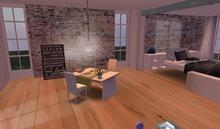 Designer Prims New York New York House, Prefab, Skybox
