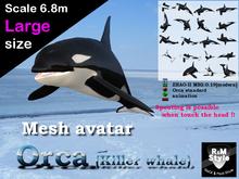 *R&Ms* Mesh avatar orca (L size)