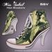 """[:S&V:] """"Miss Soleil"""" Heel Sneakers - Camo"""