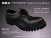 Enforcer heavy duty shoes ad