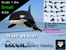 *R&Ms* Mesh avatar orca (S size)