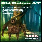 Ancient Rock Forest Golem Avatar