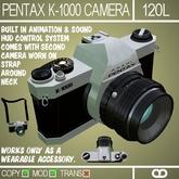 Pentax K-1000 Camera