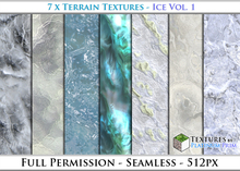 Terrain Textures: Ice Vol. 1 - Full Permissions