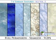 Terrain Textures: Ice Vol. 2 - Full Permissions