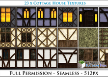 LIMITED TIME SALE! Terrain Textures: Cottage - Full Permissions