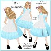 Alice in Wonderland Costume (kid)