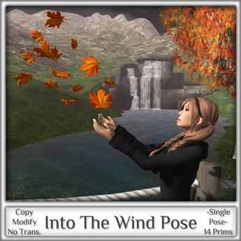Magnifique - Into The Wind (Single Pose)