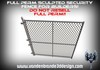 ~Full perm sculpted security fence + maps  and 2 textures for fences! easy to texture!