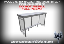 ~Full perm Sculpted Bus stop + Maps!