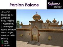 Persian Palace - price lowered