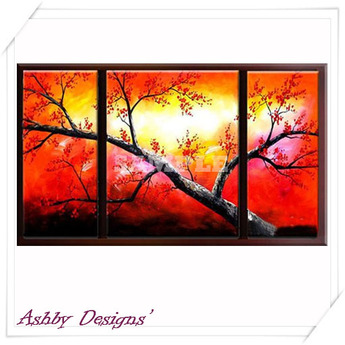Art Painting ~ Japanese Tree Art
