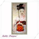 Art Painting ~ Geisha Lady 1