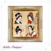 Art Painting ~ Japanese Ladies 1
