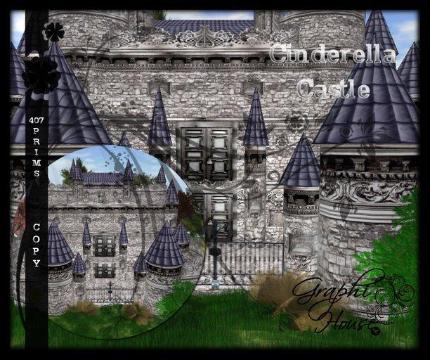 Ecarlate - Cinderella Castle / Chateau de Cendrillon