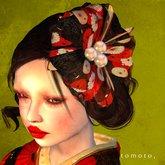tomoto, mille fleurs dark corsage