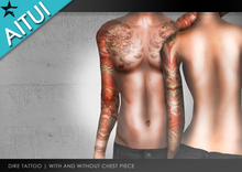 AITUI TATTOO - Dire [Unisex] *Now with 2 versions!*