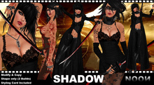 .::NOON::. Shadow Female Shapes