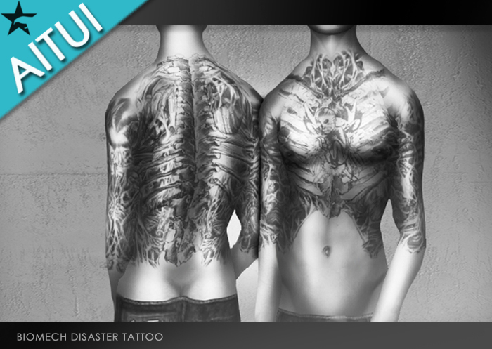 AITUI TATTOO - Biomech Disaster [Unisex]