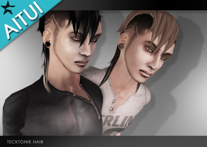 AITUI - Hair - Tecktonik [All Available Colours]