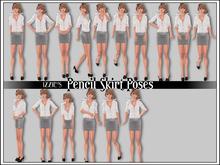 Izzie's - Pencil Skirt Poses