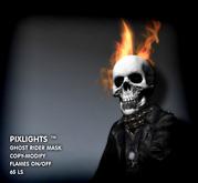 PIXLIGHTS  Ghost rider mask