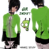 ~*KAWAII DESU!*~ Gir Jacket ~ Invader Zim