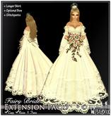 [Wishbox] Fairy Bride (White) - Longer Skirt Extension Pack