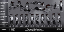 New !!! Furry AO Collection - Multiple Styles