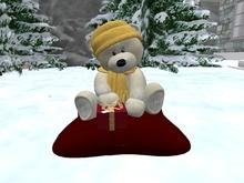 'Snuggle' white teddy bear