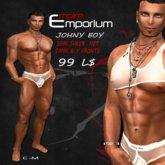 Empire Bag - Johny Boy Tank & Y Fronts White