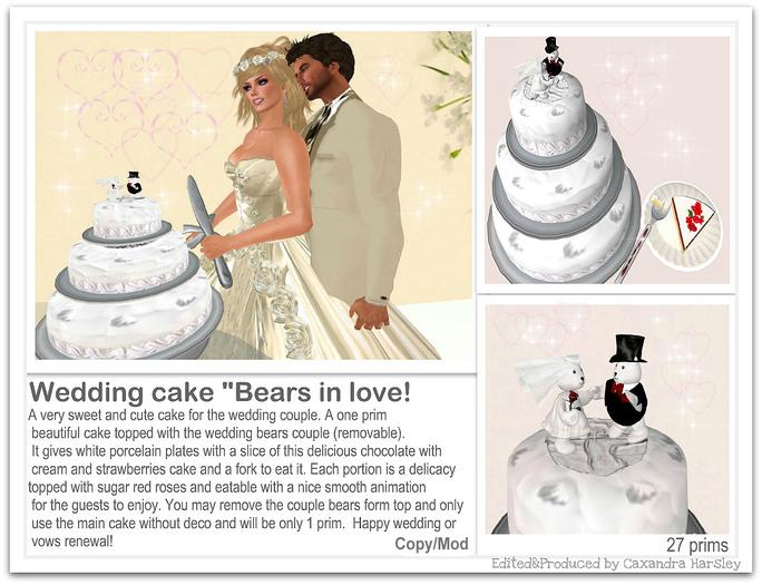 Wedding cake (boxed)
