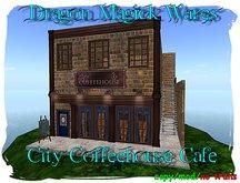 Dragon Magick Wares City Coffeehouse Cafe Building or Shop