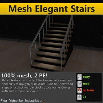 [FYI] 100% Mesh Elegant Stairs