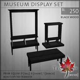Trompe Loeil - Museum Displays Blackwood [mesh]