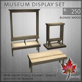 Trompe Loeil - Museum Displays Blondwood [mesh]