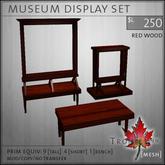 Trompe Loeil - Museum Displays Redwood [mesh]