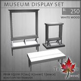 Trompe Loeil - Museum Displays Whitewood [mesh]