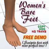 DEMOS Women's Bare Feet 2.0 (By Cathy Foil)