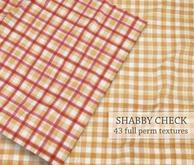 GIFT I Shabby Check Fabric I 43 Full-Perm SEAMLESS Textures