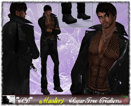 Promotional Price **SD**XX Masterj Man ( Complete OUTFIT ) ( Black Master Suit )