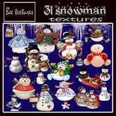 31 snowman textures